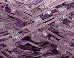 Fiber Content 95% Polyester, 5% Metallic Lurex, Pink Shades, Lilac, Brand ICE, Yarn Thickness 5 Bulky  Chunky, Craft, Rug, fnt2-45268