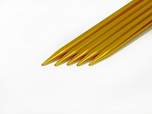 6 mm (US 10) A set of 5 double-point knitting needles. Length: 20 cm (8&amp). Material: Aluminum. 6 mm (US 10) Yarn Thickness Other, Brand ICE, acs-30
