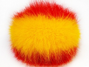 Diameter around 7cm (3&amp) Yellow, Red, Yarn Thickness Other, Brand ICE, acs-588