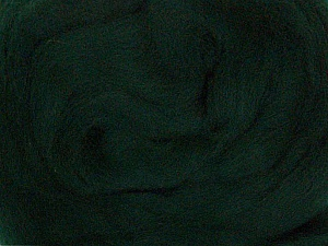 50gr-1.8m (1.76oz-1.97yards) 100% Wool felt Fiber Content 100% Wool, Yarn Thickness Other, Brand ICE, Dark Green, acs-935