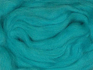 50gr-1.8m (1.76oz-1.97yards) 100% Wool felt Fiber Content 100% Wool, Turquoise, Yarn Thickness Other, Brand ICE, acs-942