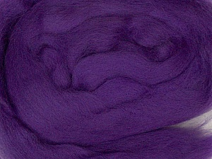 50gr-1.8m (1.76oz-1.97yards) 100% Wool felt Fiber Content 100% Wool, Purple, Yarn Thickness Other, Brand ICE, acs-969