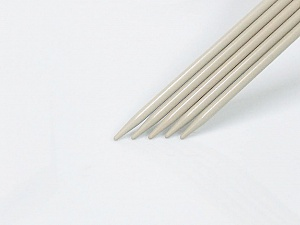6 mm (US 10) A set of 5 double-point knitting needles. Brand ICE, acs-1071