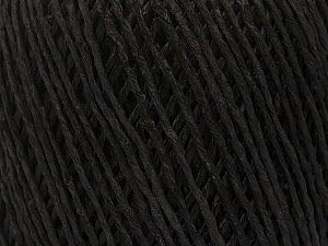 Fiber Content 100% Viscose, Brand ICE, Anthracite Black, Yarn Thickness 3 Light  DK, Light, Worsted, fnt2-49537