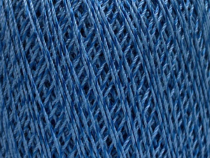Ne: 10/3 +600d. Viscose. Nm: 17/3 Fiber Content 72% Mercerised Cotton, 28% Viscose, Brand ICE, Blue, Yarn Thickness 1 SuperFine  Sock, Fingering, Baby, fnt2-49861