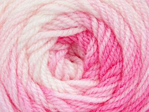 . Fiber Content 100% Baby Acrylic, White, Pink Shades, Brand Ice Yarns, Yarn Thickness 2 Fine  Sport, Baby, fnt2-49999