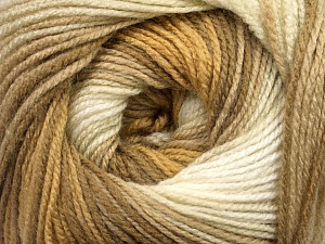 . Fiber Content 100% Baby Acrylic, Brand ICE, Gold, Cream, Camel, Beige, Yarn Thickness 2 Fine  Sport, Baby, fnt2-50001
