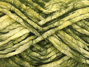 Fiber Content 70% Micro Fiber, 30% Polyamide, Yellow, Brand ICE, Green, Yarn Thickness 5 Bulky  Chunky, Craft, Rug, fnt2-50494