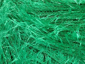 Fiber Content 100% Polyester, Brand ICE, Emerald Green, Yarn Thickness 5 Bulky  Chunky, Craft, Rug, fnt2-50641