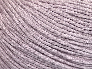 Fiber Content 60% Bamboo, 40% Cotton, Light Lilac, Brand ICE, Yarn Thickness 3 Light  DK, Light, Worsted, fnt2-50667