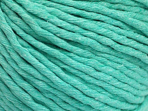 Fiber Content 100% Cotton, Mint Green, Brand ICE, Yarn Thickness 5 Bulky  Chunky, Craft, Rug, fnt2-50896