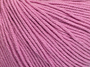 Fiber Content 60% Cotton, 40% Acrylic, Light Orchid, Brand ICE, Yarn Thickness 2 Fine  Sport, Baby, fnt2-51243