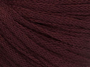 Fiber Content 50% Acrylic, 50% Wool, Maroon, Brand ICE, Yarn Thickness 4 Medium  Worsted, Afghan, Aran, fnt2-51468