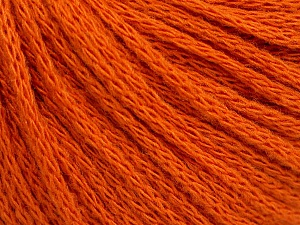 Fiber Content 50% Wool, 50% Acrylic, Orange, Brand ICE, Yarn Thickness 4 Medium  Worsted, Afghan, Aran, fnt2-51478