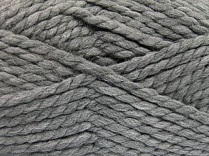 SuperBulky  Fiber Content 55% Acrylic, 45% Wool, Brand ICE, Grey, Yarn Thickness 6 SuperBulky  Bulky, Roving, fnt2-51488