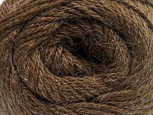 Fiber Content 45% Alpaca, 30% Polyamide, 25% Wool, Brand ICE, Brown, Yarn Thickness 3 Light  DK, Light, Worsted, fnt2-51524