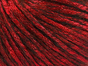 Fiber Content 70% Polyamide, 19% Merino Wool, 11% Acrylic, Red, Brand ICE, Black, Yarn Thickness 4 Medium  Worsted, Afghan, Aran, fnt2-51554