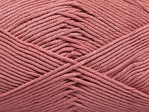 Fiber Content 50% Bamboo, 50% Acrylic, Rose Pink, Brand ICE, Yarn Thickness 2 Fine  Sport, Baby, fnt2-51668