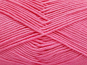 Fiber Content 50% Acrylic, 50% Bamboo, Pink, Brand ICE, Yarn Thickness 2 Fine  Sport, Baby, fnt2-51670