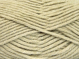 Fiber Content 80% Acrylic, 20% Polyamide, Light Khaki, Brand ICE, Yarn Thickness 5 Bulky  Chunky, Craft, Rug, fnt2-52056