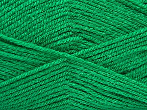 Fiber Content 100% Acrylic, Brand ICE, Green, Yarn Thickness 3 Light  DK, Light, Worsted, fnt2-52080