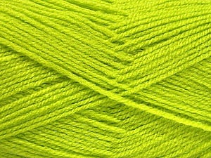 Fiber Content 100% Acrylic, Light Green, Brand ICE, Yarn Thickness 3 Light  DK, Light, Worsted, fnt2-52082