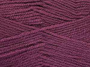 Fiber Content 100% Acrylic, Light Maroon, Brand ICE, Yarn Thickness 3 Light  DK, Light, Worsted, fnt2-52089