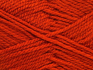 Bulky  Fiber Content 100% Acrylic, Brand ICE, Dark Orange, Yarn Thickness 5 Bulky  Chunky, Craft, Rug, fnt2-52122
