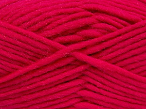 Fiber Content 100% Wool, Brand ICE, Fuchsia, Yarn Thickness 5 Bulky  Chunky, Craft, Rug, fnt2-52154