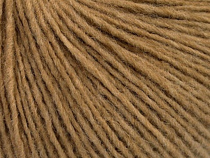 Fiber Content 50% Wool, 50% Acrylic, Light Brown, Brand ICE, Yarn Thickness 3 Light  DK, Light, Worsted, fnt2-52307