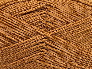 Fiber Content 100% Acrylic, Light Brown, Brand ICE, Yarn Thickness 2 Fine  Sport, Baby, fnt2-52310