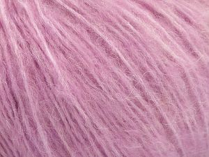 Fiber Content 34% Acrylic, 26% Polyamide, 25% Alpaca, 15% Superwash Merino Wool, Orchid, Brand ICE, Yarn Thickness 3 Light  DK, Light, Worsted, fnt2-52386