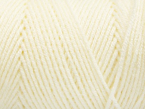 Items made with this yarn are machine washable & dryable. Fiber Content 100% Dralon Acrylic, Light Cream, Brand Ice Yarns, Yarn Thickness 4 Medium  Worsted, Afghan, Aran, fnt2-52400