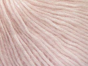 Fiber Content 50% Acrylic, 50% Polyamide, Brand ICE, Baby Pink, Yarn Thickness 4 Medium  Worsted, Afghan, Aran, fnt2-52582