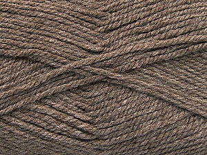 Worsted  Fiber Content 100% Acrylic, Brand ICE, Camel, Yarn Thickness 4 Medium  Worsted, Afghan, Aran, fnt2-52670