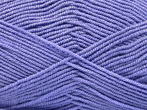 Fiber Content 50% Bamboo, 50% Acrylic, Lilac, Brand Ice Yarns, Yarn Thickness 2 Fine  Sport, Baby, fnt2-53099