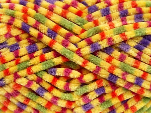 Fiber Content 100% Micro Fiber, Yellow, Pink, Orange, Lilac, Brand ICE, Green, Yarn Thickness 4 Medium  Worsted, Afghan, Aran, fnt2-53135