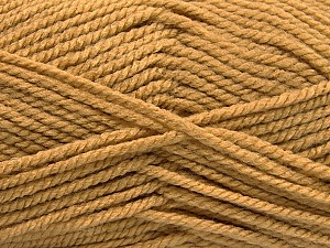 Fiber Content 100% Acrylic, Light Brown, Brand ICE, Yarn Thickness 5 Bulky  Chunky, Craft, Rug, fnt2-53173
