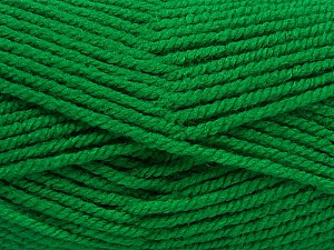 Fiber Content 100% Acrylic, Brand ICE, Green, Yarn Thickness 5 Bulky  Chunky, Craft, Rug, fnt2-53180
