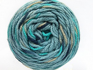 Fiber Content 80% Acrylic, 20% Polyamide, Turquoise, Navy, Light Jeans Blue, Brand ICE, Camel, Yarn Thickness 4 Medium  Worsted, Afghan, Aran, fnt2-53213