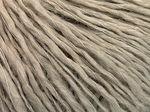 Fiber Content 60% Wool, 40% Acrylic, Brand ICE, Beige, Yarn Thickness 2 Fine  Sport, Baby, fnt2-53361