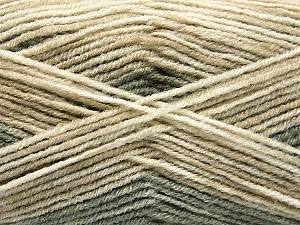 Fiber Content 70% Acrylic, 30% Wool, Khaki, Brand ICE, Beige Shades, Yarn Thickness 2 Fine  Sport, Baby, fnt2-53766