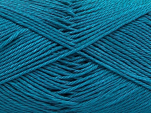 Fiber Content 100% Mercerised Cotton, Turquoise, Brand ICE, Yarn Thickness 2 Fine  Sport, Baby, fnt2-53787