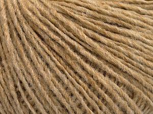 Fiber Content 50% Acrylic, 50% Wool, Light Camel, Brand ICE, Yarn Thickness 3 Light  DK, Light, Worsted, fnt2-53954
