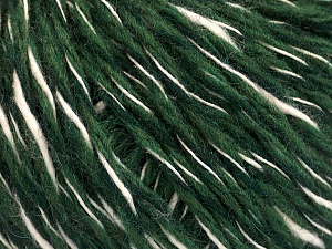 Fiber Content 50% Wool, 50% Acrylic, Brand ICE, Green, Cream, Yarn Thickness 3 Light  DK, Light, Worsted, fnt2-53965