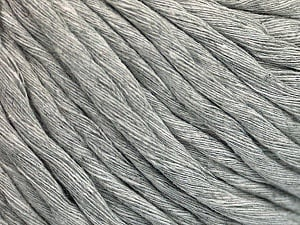 Fiber Content 100% Cotton, Brand ICE, Grey, Yarn Thickness 5 Bulky  Chunky, Craft, Rug, fnt2-54124
