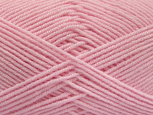 Fiber Content 50% Bamboo, 50% Acrylic, Light Pink, Brand ICE, Yarn Thickness 2 Fine  Sport, Baby, fnt2-54129