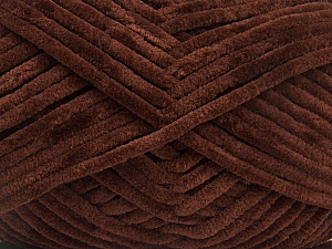 Fiber Content 100% Micro Fiber, Brand Ice Yarns, Dark Brown, Yarn Thickness 4 Medium  Worsted, Afghan, Aran, fnt2-54143