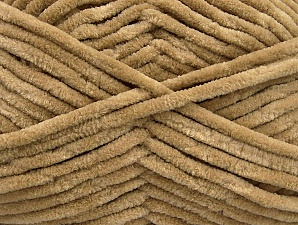 Fiber Content 100% Micro Fiber, Light Camel, Brand Ice Yarns, Yarn Thickness 4 Medium  Worsted, Afghan, Aran, fnt2-54144