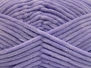 Fiber Content 100% Micro Fiber, Light Lilac, Brand Ice Yarns, Yarn Thickness 4 Medium  Worsted, Afghan, Aran, fnt2-54161